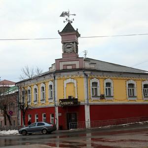 Старый купеческий дом в Клину, одно из самых заметных зданий в городе