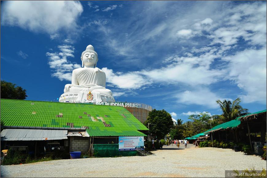 Главная визитная карточка Пхукета - гигантская статуя Большого Будды -  Big Budda.
