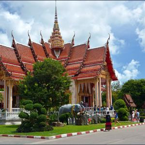 Главный храм монастыря, где проводятся все  обряды.