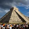 Чичен Итца. Пирамида Кукулькан