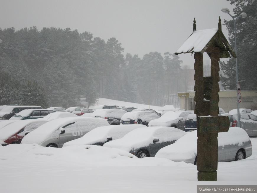 Когда мы приехали, снег шел непрервывно уже несколько дней.