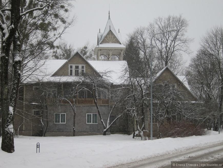 Дома и улицы Друскининкая