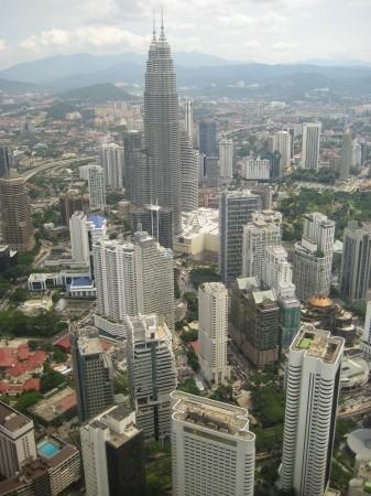В Тайланд через Куала-Лумпур