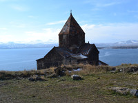 Армения.  Монастырь Севанаванк