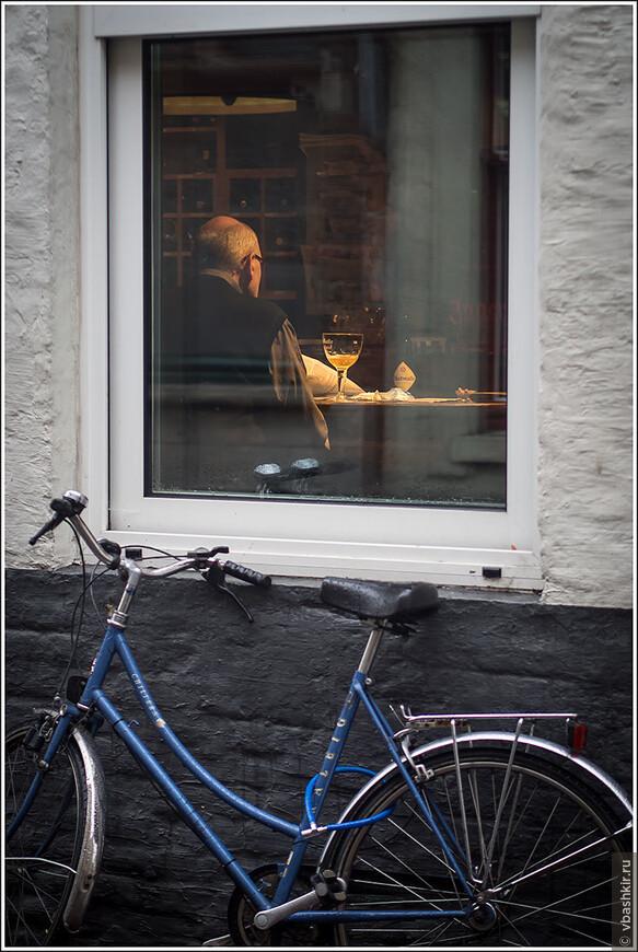 Велосипед + пиво = солидность))