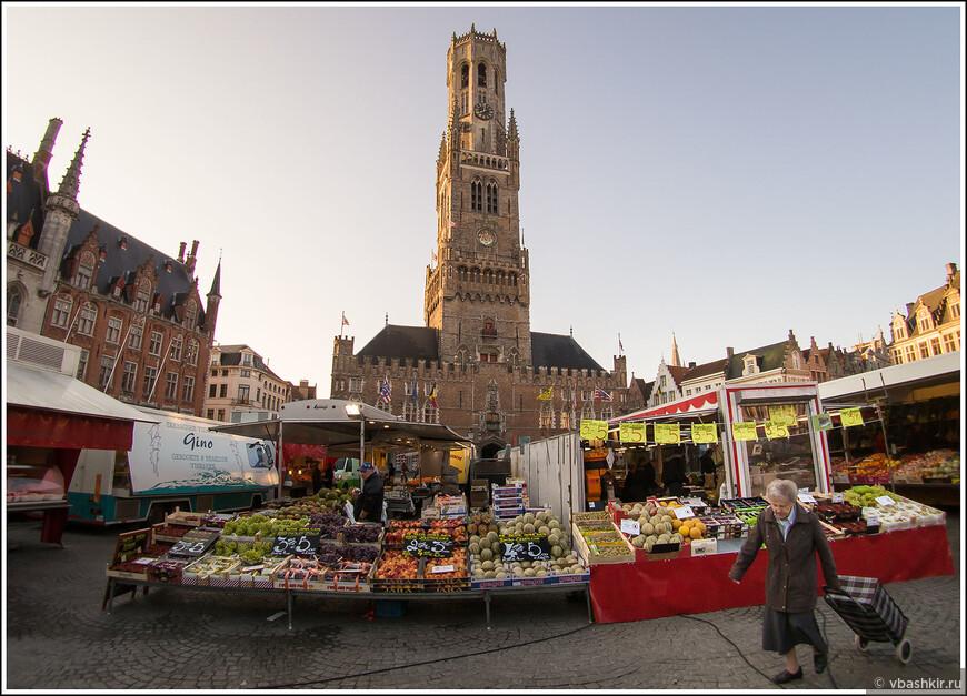 Пятничный рынок на Гроте Маркт.