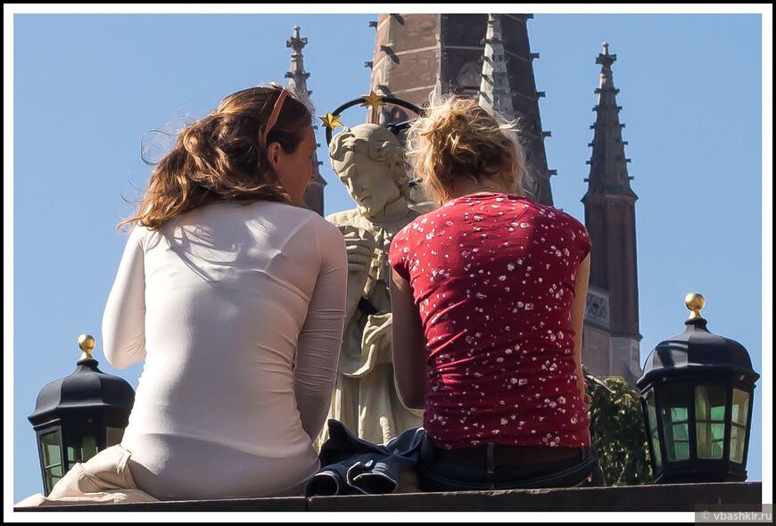 Разговор со святым