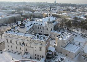 Вильнюс и Тракай зимой
