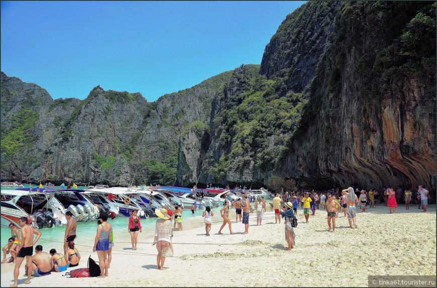 Пляж на острове Пхи-Пхи Лей.