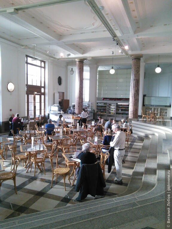 Почти во всех венских музеях есть уютные кафе.