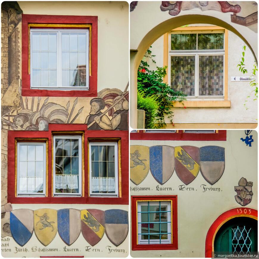 всего один уголок, всего  одного переулка и всего одного дома, а как много интересных деталей в его оформлении