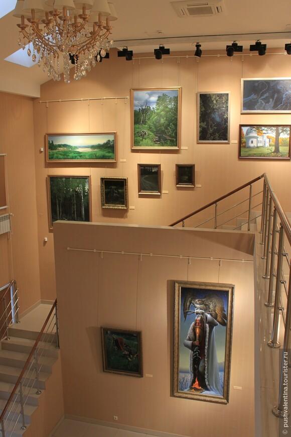 В музее Константина Васильева