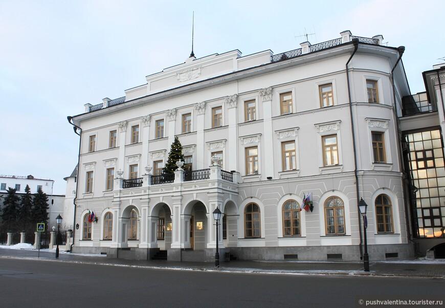 Здание мэрии Казани.