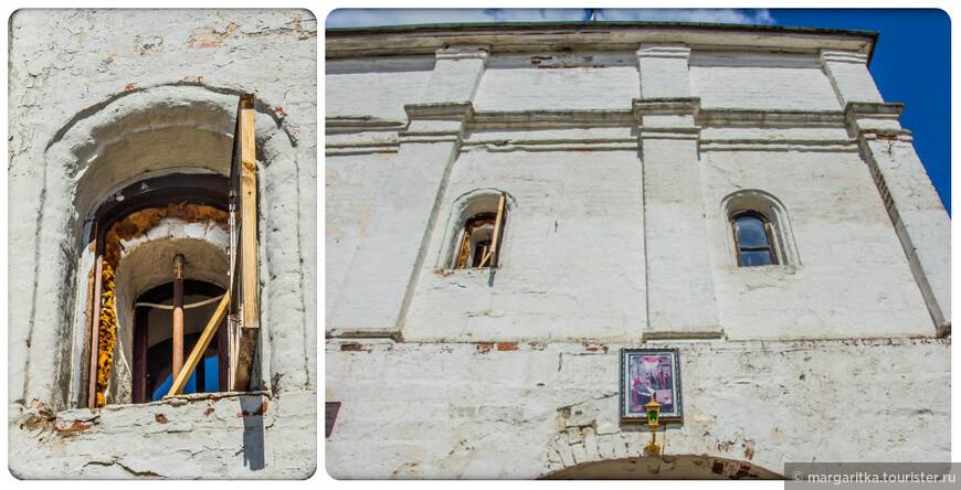 жизнь монастыря налаживается  ремонтом и обустройством