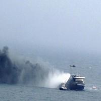 В Ионическом море терпит бедствие туристический паром
