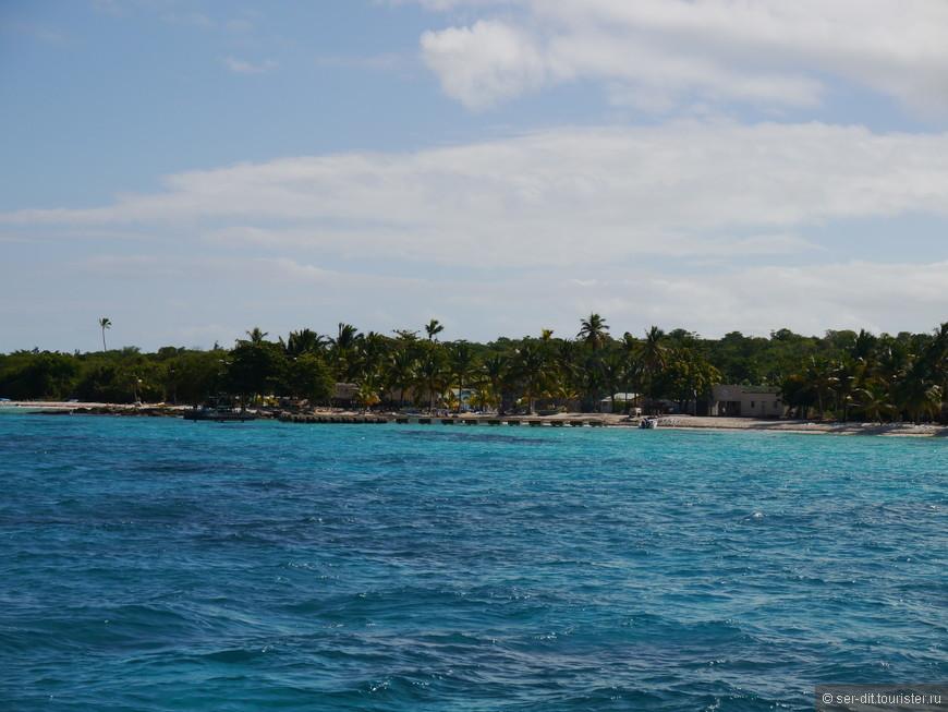 Это уже Карибское море, более тихое и спокойное