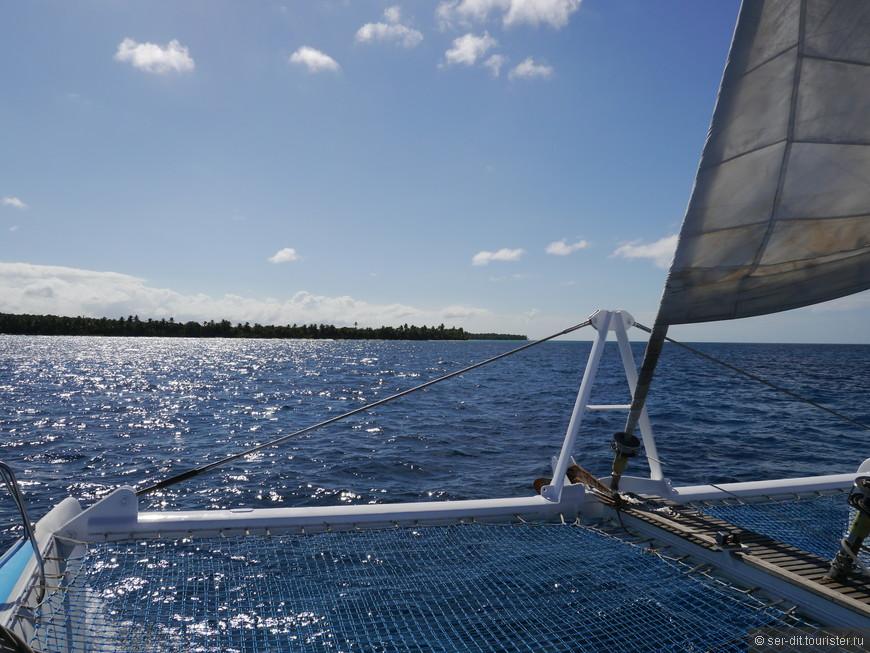 Экскурсия на катамаране к острову Саона.