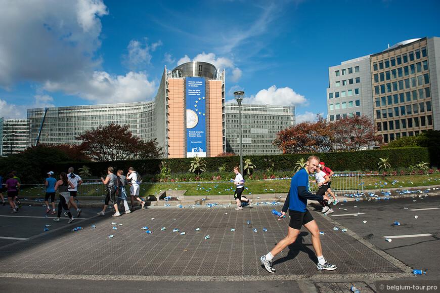 Брюссельский марафон, 20 миль