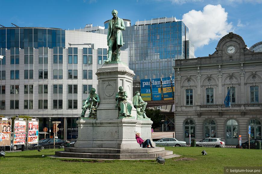 Памятник англичанину, который основал АртселорМетал