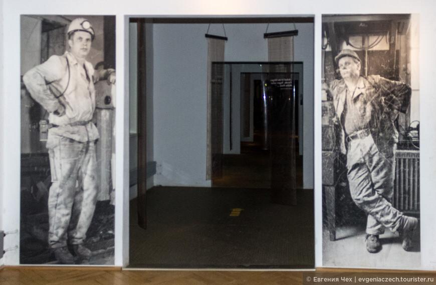 А в бывшем офисном здании сегодня музей современного искусства.