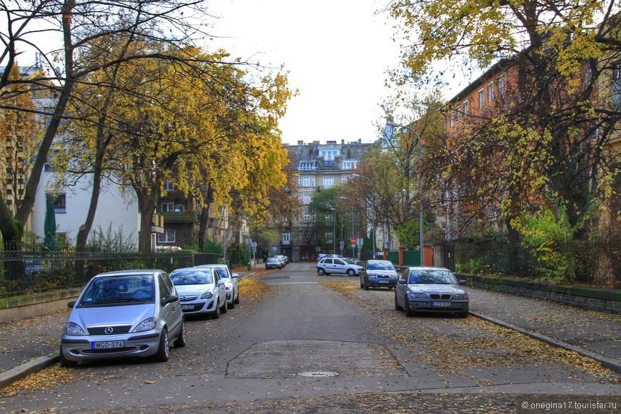 Улицы Будапешта.