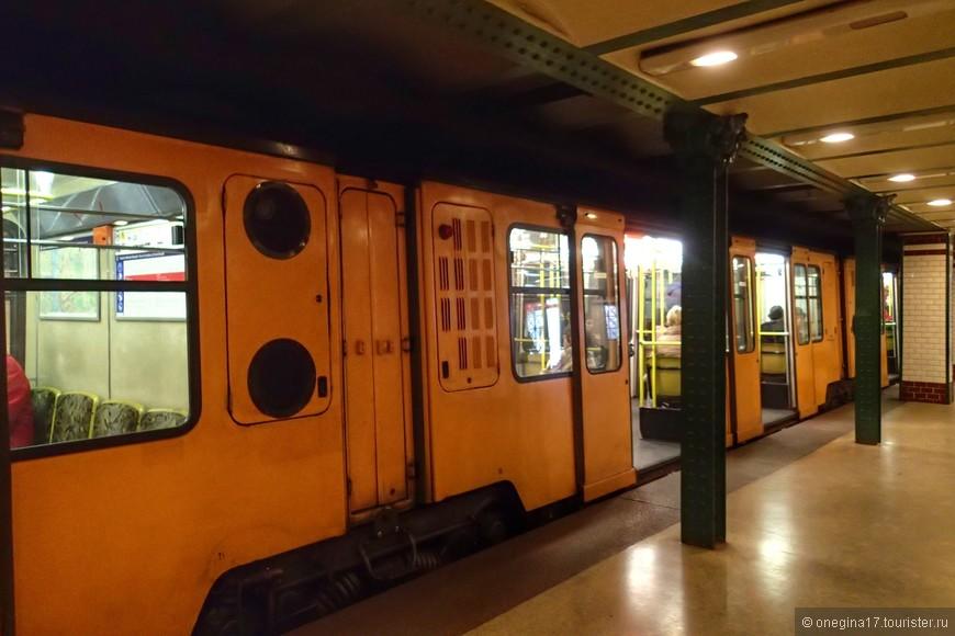 Самое старое на европейском континенте метро.