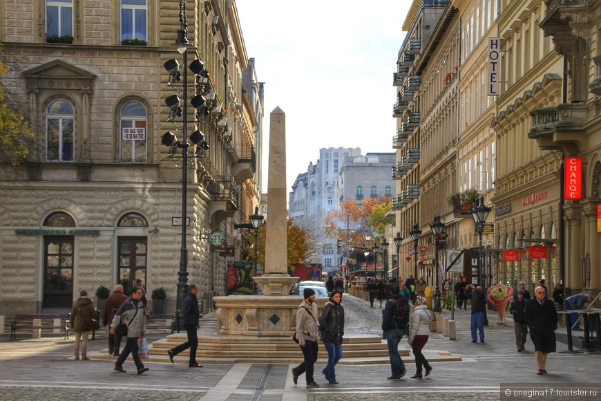 По дороге к площади Свободы.