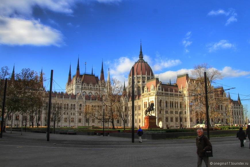 Парламент Будапешта.