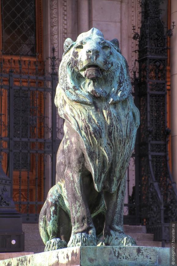 Парламентские львы.