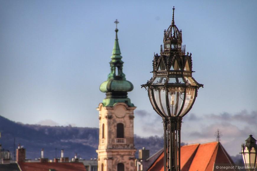 Фонари Будапешта - настоящие произведения искусства!