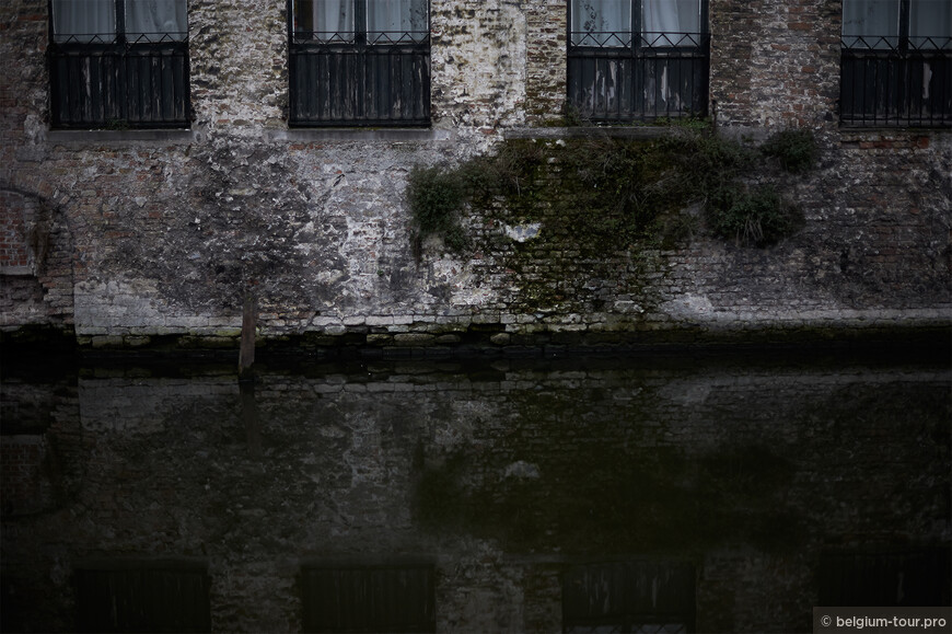 Каналы Брюгге ля морт