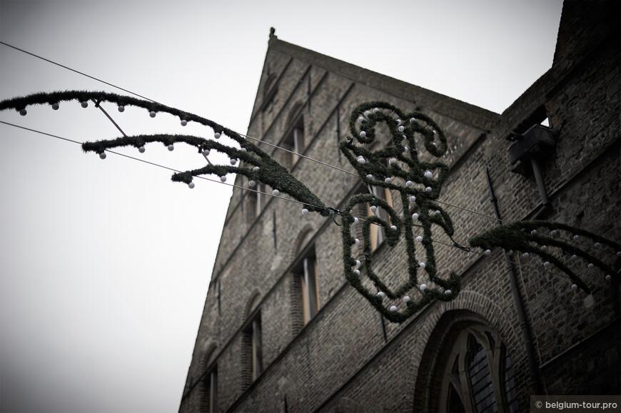 Кирпичные фасады Брюгге