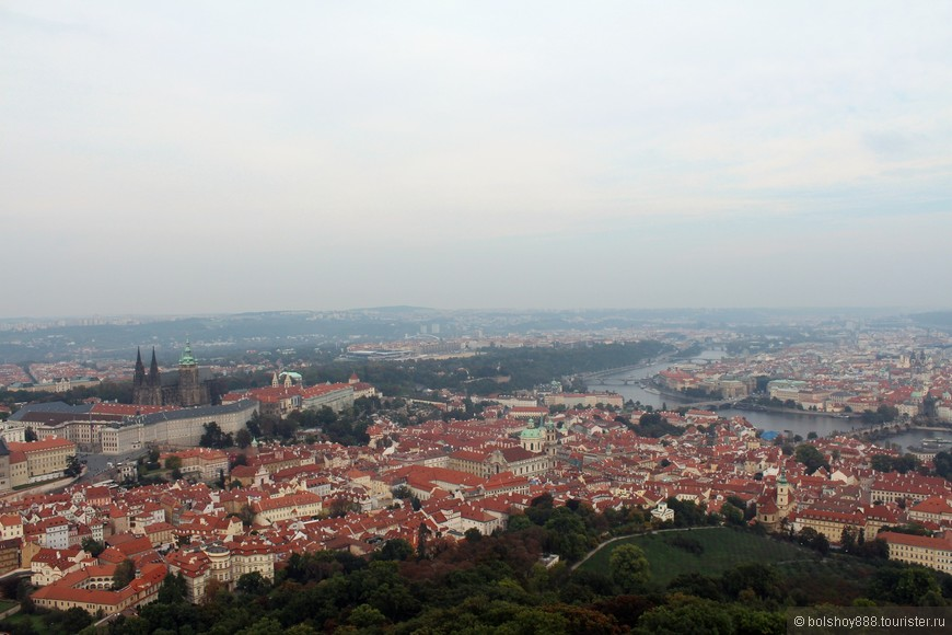 Вид с Петршинской башни.