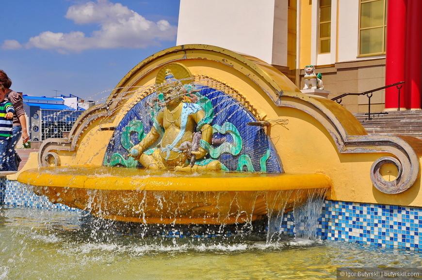 23. Еще фонтан.