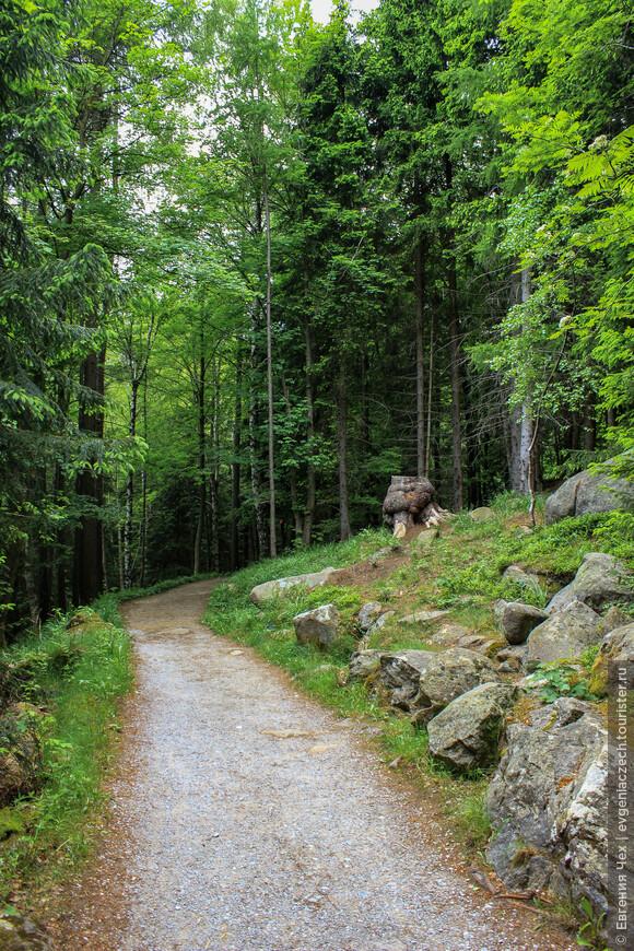 Вокруг Ширке проложены многочисленные маршруты пешего туризма.