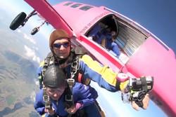 В Новой Зеландии пассажиры покинули самолет за несколько секунд до катастрофы