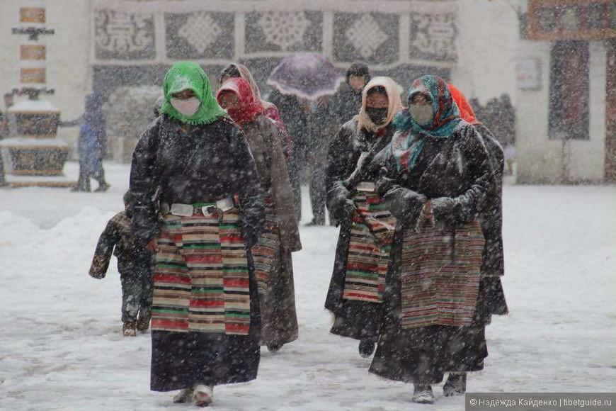 тибетские снегурочки