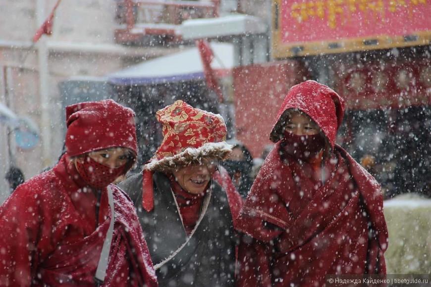 нигу монахини первый снег
