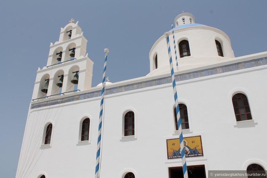 Церковь, в которой венчалась дочка В.В. Путина.