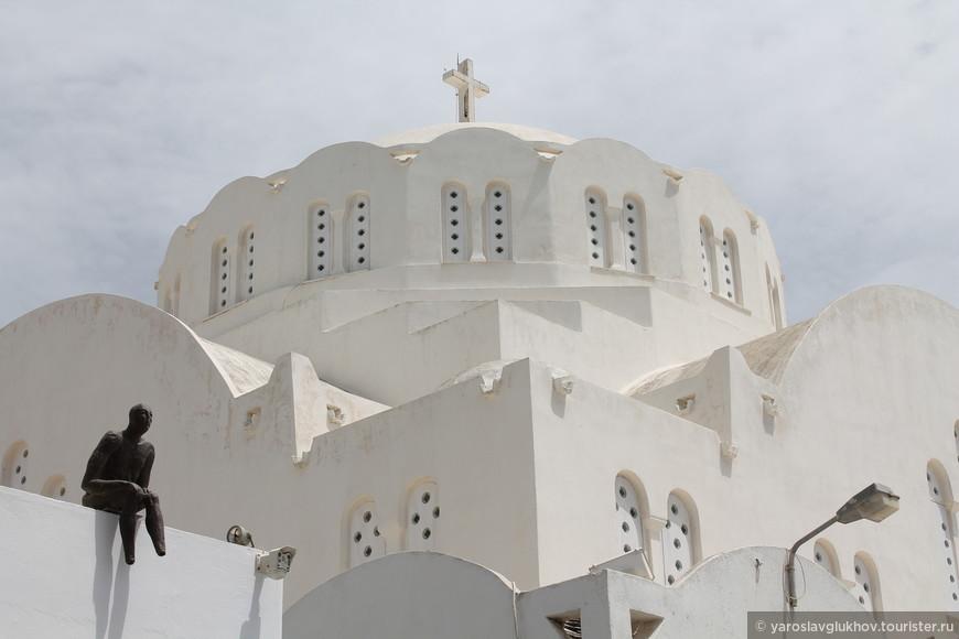 Купол собора Святой Марии в Фире.