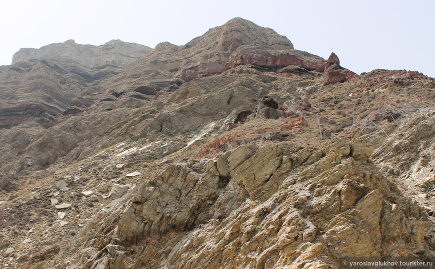 Скалы острова.