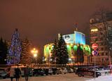 Челябинск новогодний