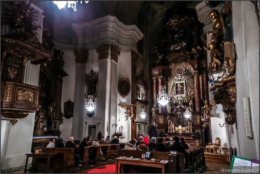 Церковь построена в барочном стиле, сегодняшний вид датируется 1792 годом.
