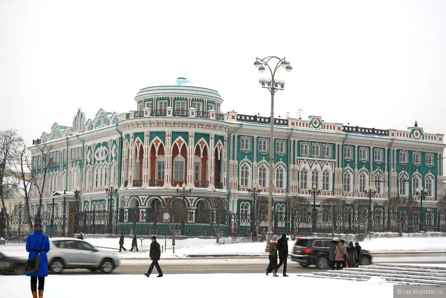 Дом Севастьянова ( Дом профсоюзов)