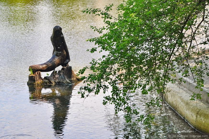 29. В озере русалка.