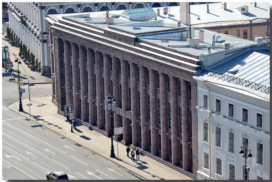 Днем, открытка здание немецкого посольства в петербурге