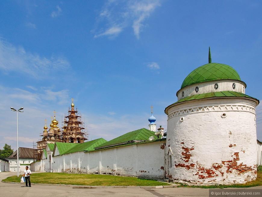 04. Стены и башни кремля.