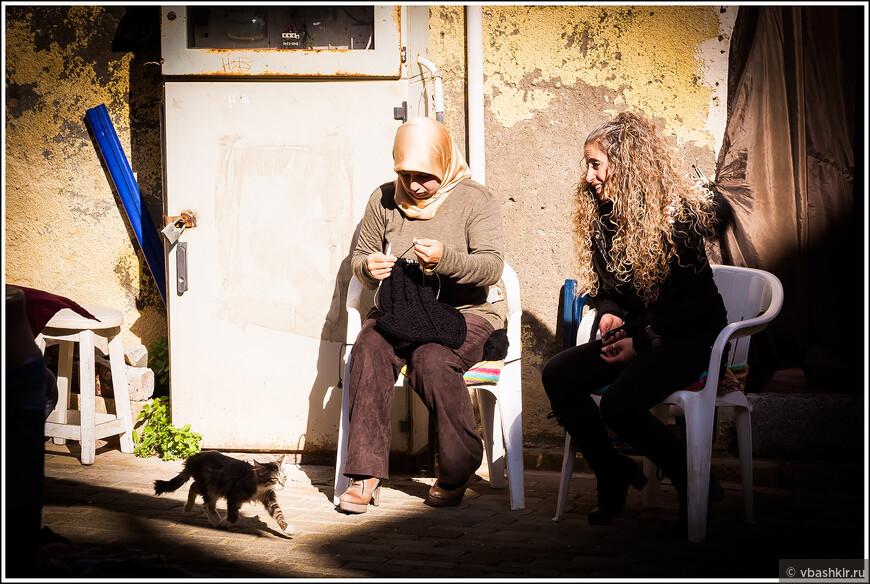 Фамагуста. Разговор за вязанием.