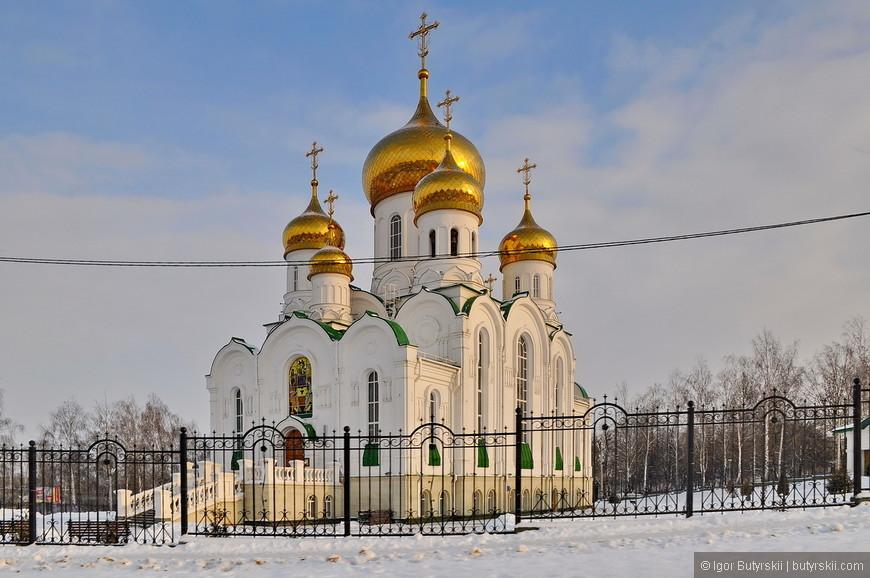 04. Троицкая церковь. 18 ноября 2008 года сообщалось о начале воссоздания храма, снесённого по решению властей в 1933 году.
