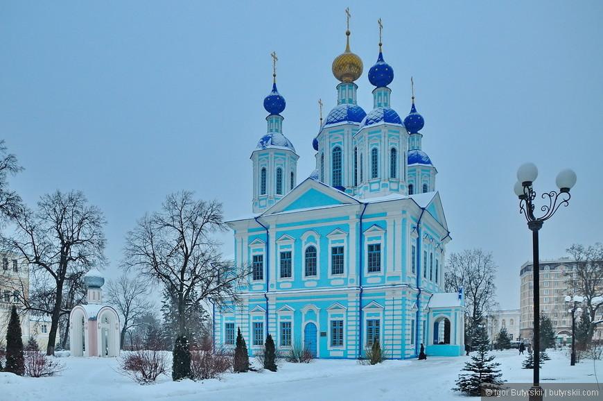 18. Храм Казанской иконы Божией Матери (была заложена как летняя церковь в 1791 году).